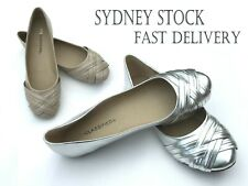 Women Flat Heel Flats Closed-toes Shoes Size 7- 10