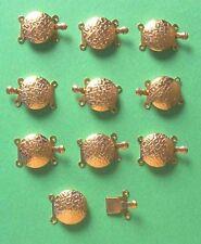10 X 2-Cuerdas GP Push-En Broches, resultados para la fabricación de joyas Artesanías