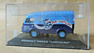 Renault - 1000 KG Lustucru + Box Scale / Ladder: 1/43 Collection