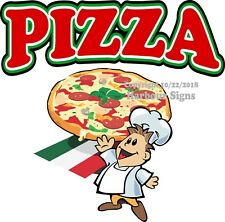 Pizza DECAL (Choose Your Size) Concession Food Truck Vinyl Sign Sticker