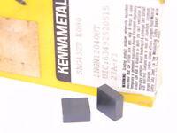 NEW SURPLUS 10PCS. KENNAMETAL  SNG 432T  GRADE: K090  CERMET INSERTS