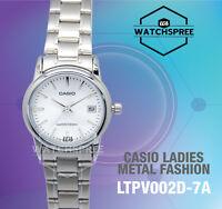 Casio Ladies' Standard Analog Watch LTPV002D-7A LTP-V002D-7A