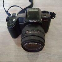 Pentax Z-10 With sigma DL Zoom 35-80mm 1:4-5.6 lens 35mm film vintage camera