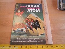 Doctor Solar Man of the Atom Gold Key 24 comic book Vg 1960s Silver Age
