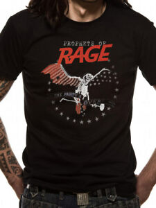PROPHETS OF RAGE- THE PARTY'S OVER Official T Shirt Black Mens Licensed Merch