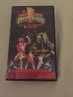 Mighty Morph'n Power Rangers Day Of The Dumpster High Five VHS Video Vintage PAL