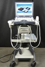 GE Logiq E Ultrasound with 8L-RS and 4C-RS Probes and Printer