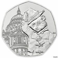 Rare 50p Coin UK – Paddington Bear at St Pauls 2019 – Circulated