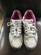 New Balance 680 Running Womens White Silver Purple Trainers Size 8
