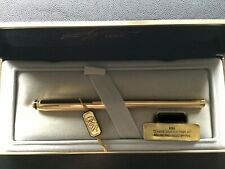 Cross  Signature 22k Gold Plate Rollerball Pen In Cross Signature Box