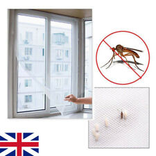 2x Magnetic Window Mesh Door Curtain Snap Net Mosquito Fly Bug Insect Screen PS