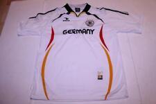 Men's Germany Deutscher Fusball Bund L/XL Futbol Soccer Jersey (White) Drako