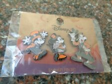 Loungefly Mickey and Friends Halloween Pin 3-Pack Minnie & Pluto HTF New Disney