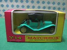 Vintage -  MAXWELL  Roadster  1911    -    Matchbox  N° Y-14    Mint box