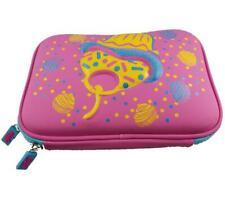 Pencil Case pink Cake gift for girl Anti-shock zipper bag