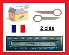 2 Clés clef d'extraction climatisation démontage clim MERCEDES E W210 2002