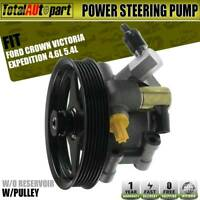 Power Steering Pump for Ford Crown Victoria Expedition Lincoln Navigator Mercury