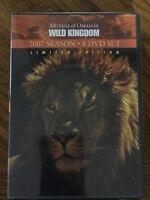 Mutual Of Omahas's Wild Kingdom 2007 Season New 4 Dvd Set Limited Edition