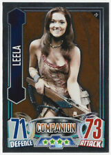 Leela. Dr Who Alien Attax Trading Card. Good Condition. Companion. Number 25