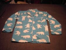 Blue white polar bears by Hatley Boys Pajama Set Size S/P