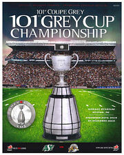 2013 Grey Cup Poster of Game Program Cover  (Regina vs Hamilton) - 8x10 Photo
