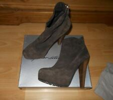 Brian Atwood ankle brown suede boots,TRONCHETTO 140mm,size 40.5(UK 7)