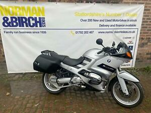 BMW R1100RS, 2001, Silver, Genuine panniers, Clean, delivery