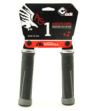 ODI AG-1 Aaron Gwin Signature Lock-On MTB / DH Bike Grips 135mm - Black/Graphite