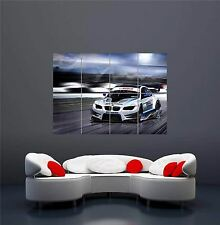 SPORT CAR BMW RACING TOURING CAR NEW GIANT WALL ART PRINT PICTURE POSTER OZ622