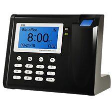 Fingerprint Zeiterfassung Fingerabdruck Scanner wie Stempeluhr Stechuhr schwarz