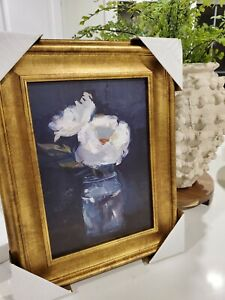 NEW Studio McGee Threshold Target 11x14 Floral Flowers Framed Wall Canvas Art