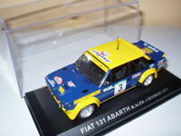 RPT11M voiture 1/43 IXO Rallye PORTUGAL : FIAT 131 Abarth Alen 1977 #3