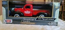 1/24 Diecast 1941 Plymouth Pickup O'Reilly  Auto Parts Motor Max limited edition