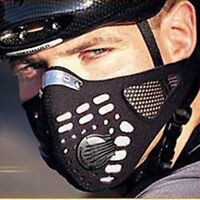 Unisex Anti Dust Motorcycle Bicycle Cycling Ski Half Face Shield Filter Sales