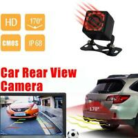 12 LED HD Car Rear View Camera Auto Parking Reverse Backup Camera Vision Black