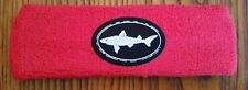 DOGFISH HEAD BEER BREWERY BREWING CO PROMO TERRY CLOTH HEADBAND SWEAT BAND RED