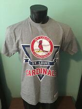 St. Louis Cardinals Mitchell & Ness Throwback Shirt Mens Medium