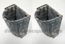 SET OF 2 NEW PVS-14 US UTILITY POUCH PROTECTIVE INSERT CANTEEN POUCH INSERT ACU