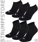 PUMA Sneaker Quarter Sport Socken 3 Paar Damen Herren UNISEX schwarz (200)
