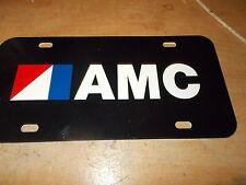 1970'S AMC AMX JAVELIN MATADOR HORNET PACER GREMLIN X JEEP LICENSE PLATE BLACK