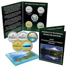 National Park Quarter Set - Mt. Hood National Forest Oregon