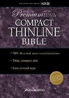 NIV Compact Thinline Bible : Premium Edition Hardcover Zondervan Publishing