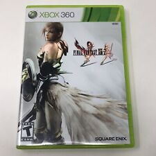 Final Fantasy XIII-2 Microsoft Xbox 360 Video Game Complete Tested CIB