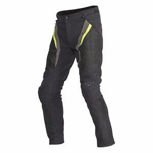 Dainese Drake Super Air Tex Pants - Black Yellow - MANY SIZES!