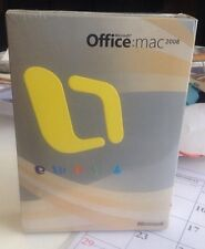 Microsoft Office for Mac 2008 Standard Retail Box Full