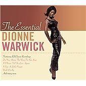Dionne Warwick - Essential very best of 2 cd 44 hits walk on by san jose alfie