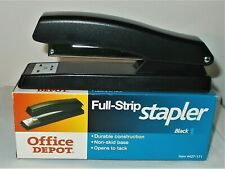 New Listingoffice Depot Full Strip Stapler Black Item 427 171 New In Box