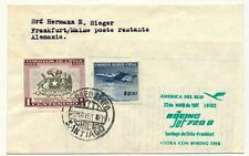 Vuelo post 1961 LH 503 chile-Frankfurt 22.5.61 (17978)