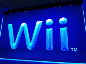 New Wii Game Room LED Neon Light Sign Home Décor Crafts Boy Girl Friend Gift