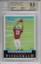 2004 Larry Fitzgerald Bowman Chrome White Refractor RC... BGS 9.5 Gem Mint